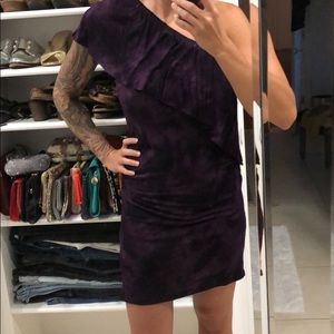 Young fabulous and broke purple tie-dye  dress